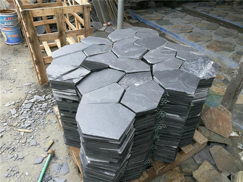 冰裂紋青石板材
