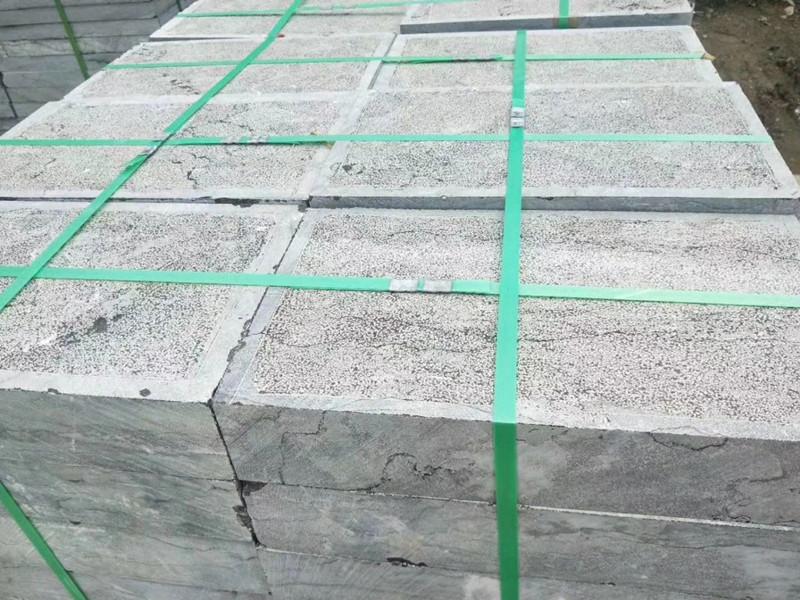 毛面青石板