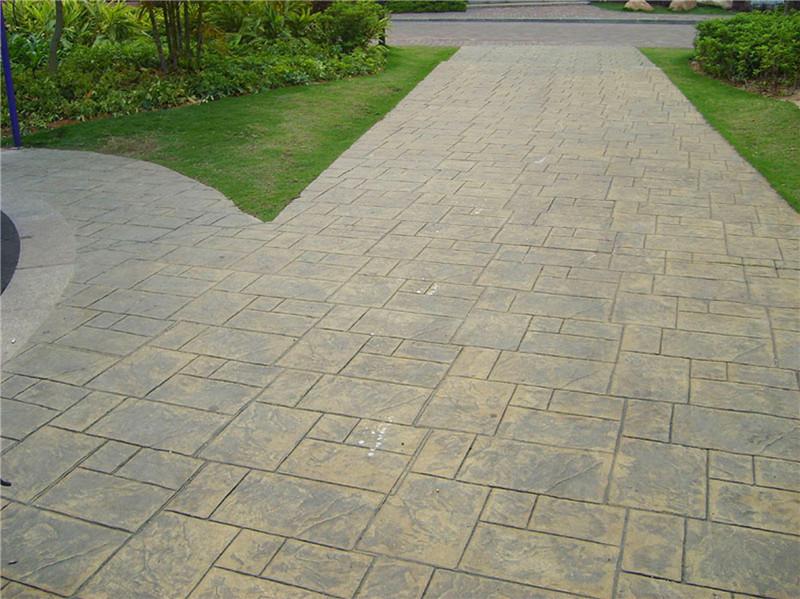 青石板石材的鋪裝設計及步驟