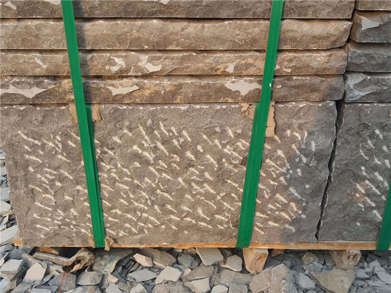 2公分自然面青石板