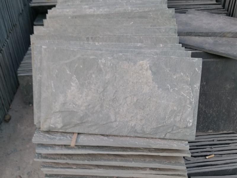 粗鑿面青石板裂縫的原因,及修復方法分析