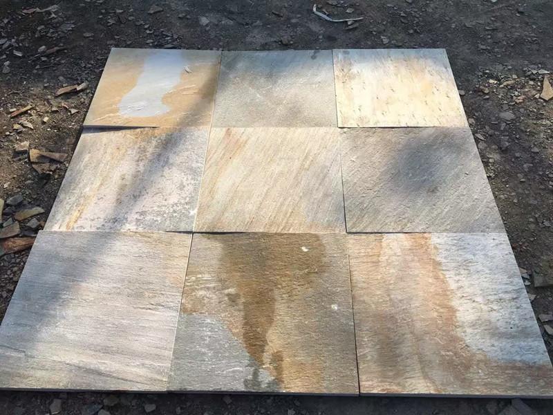 青石板地面用什么勾縫?