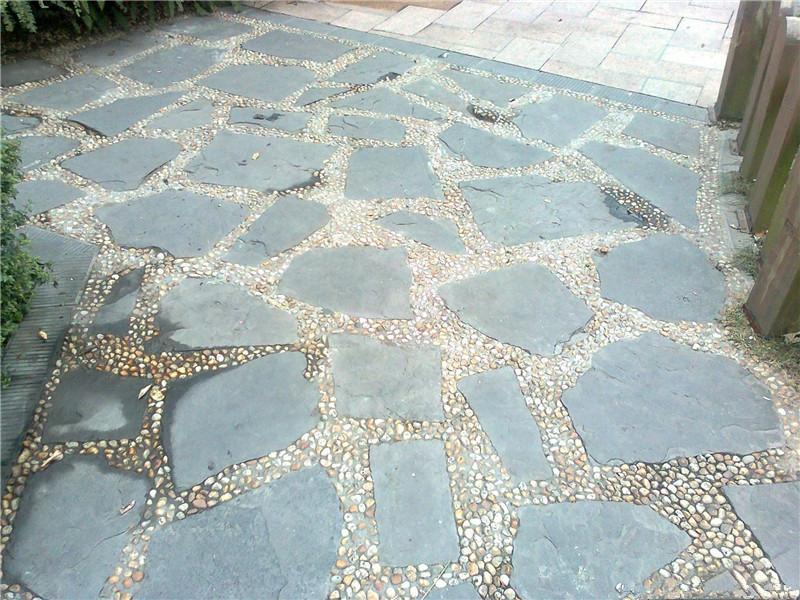 青石板石材鋪裝園林有哪些特色